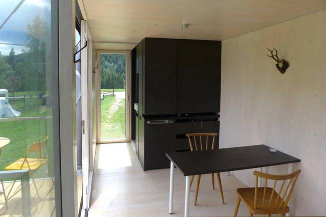 tiny house dining room