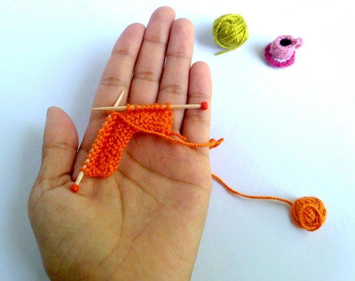 tiny knitting
