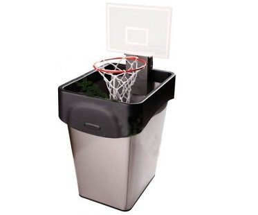 trash can basketball hoop game