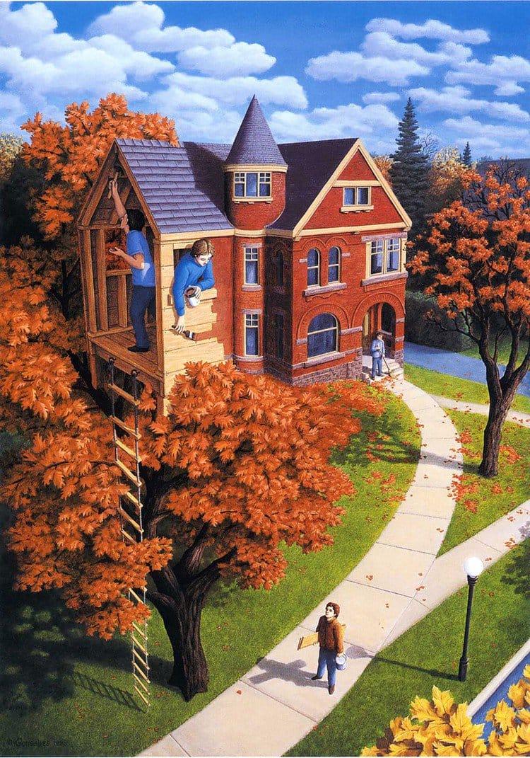 tree house ladder
