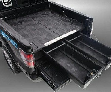 truck bed organizer drawers empty