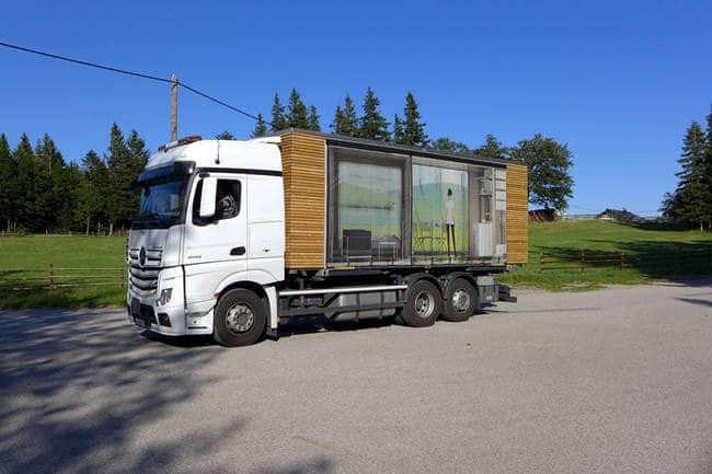 truck tiny house