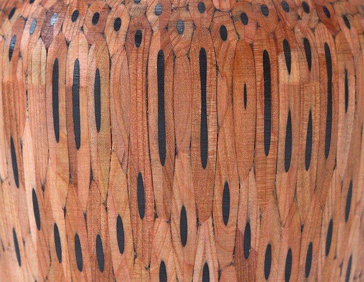 ultra close up pencil vase