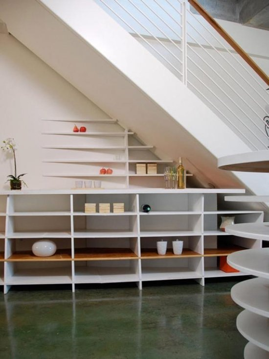 under-stair-minimal-shelves