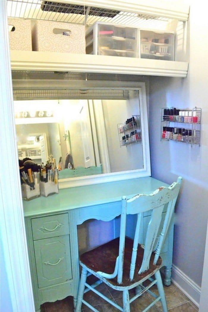 vanity closet
