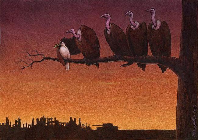 vultures peace