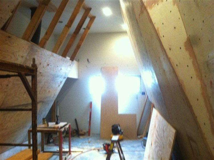 wall-plywooding