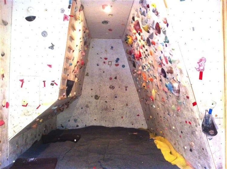 Rock Climbing Family Build Their Very Own Indoor Rock Climbing Wall For  Their Children. Rock Climbing Family Build Their Very Own Indoor Rock Climbing