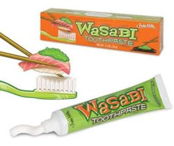 wasabi toothpaste hot