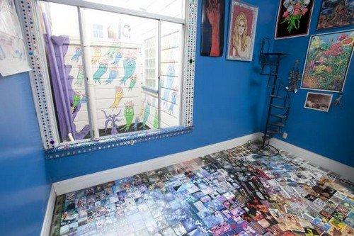window pictures floor pattern