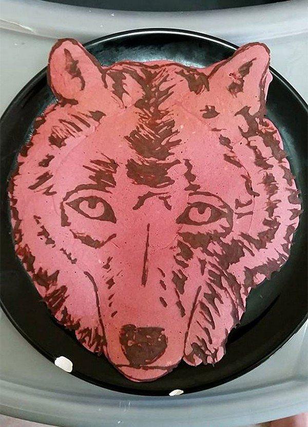 wolf pancake