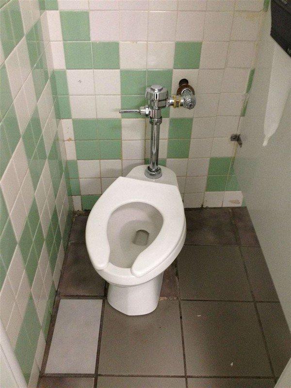 wonky toilet
