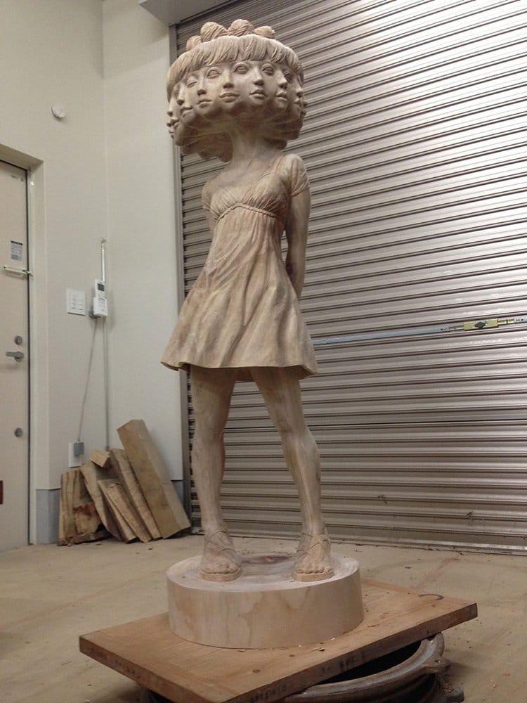 wooden-sculpture-art-distance