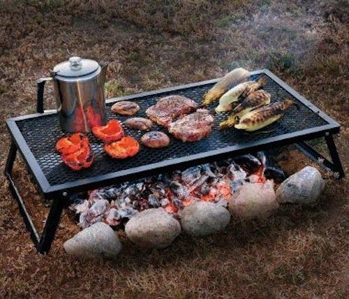 yard-camping-grill