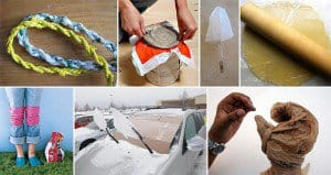 Alternative Uses for Shopping Bags
