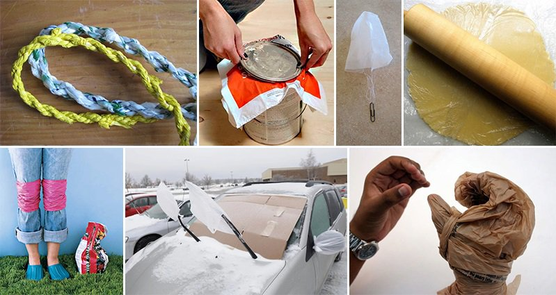 14 Awesome Alternative Uses For Plastic Shopping Bags You Will Love
