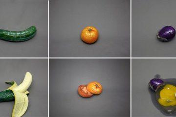 Artist Disguises Foods