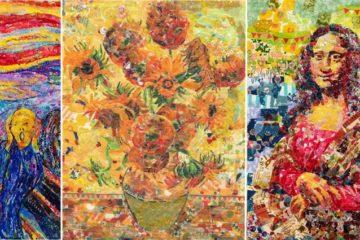 Artist Recreate Famous Paintings