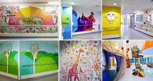 Visual Arts artists make childrens hospital more fun