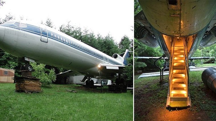 Boeing 727 Conversion Home