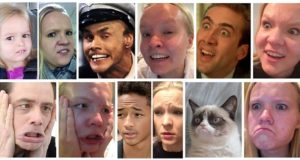 Celebrity Facial Expressions Imitations