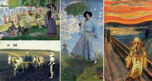 Classic Paintings Star Wars