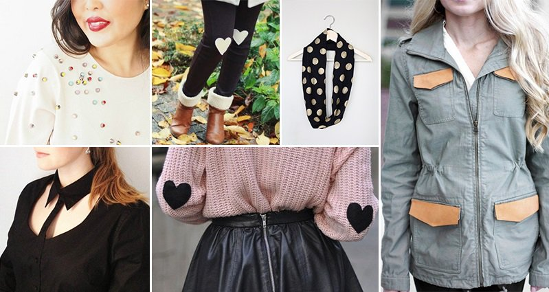 You Need To Try These 11 Easy DIY No-Sew Clothing Hacks