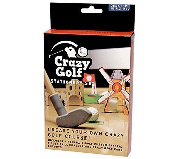 Desktop Golf Stationery Set box