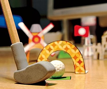Desktop Golf Stationery Set