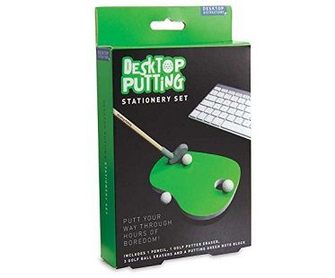 Desktop Putting Stationery Set box