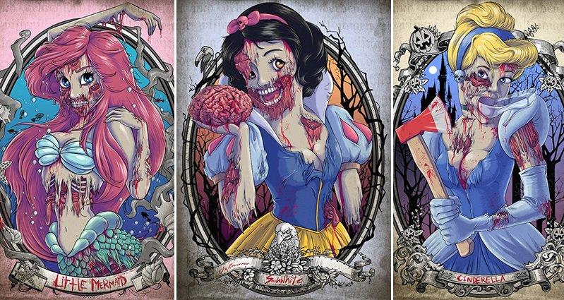 What Disney Princesses...