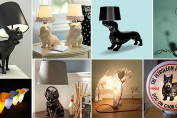 Dog Themed Lamps