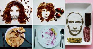 Food Art Portraits