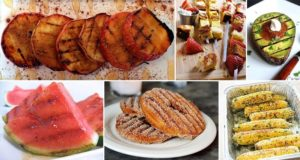 grilling different foods
