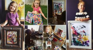 Four Year Old Charity Artist