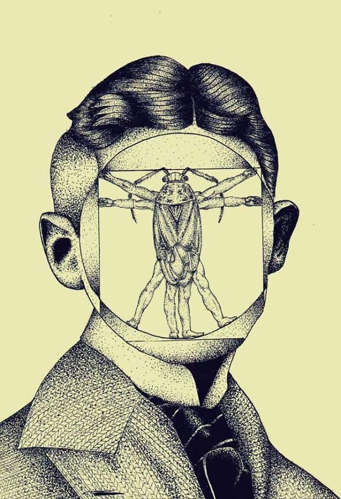Franz-Kafka-Metamorphosis