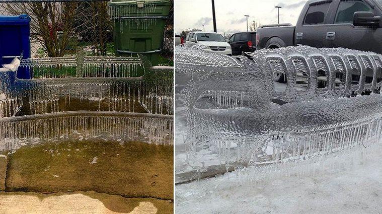 Frozen Car Bumper Shells