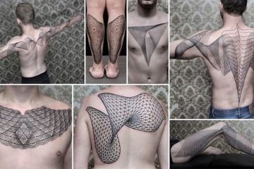 Geometric Line Tattoos