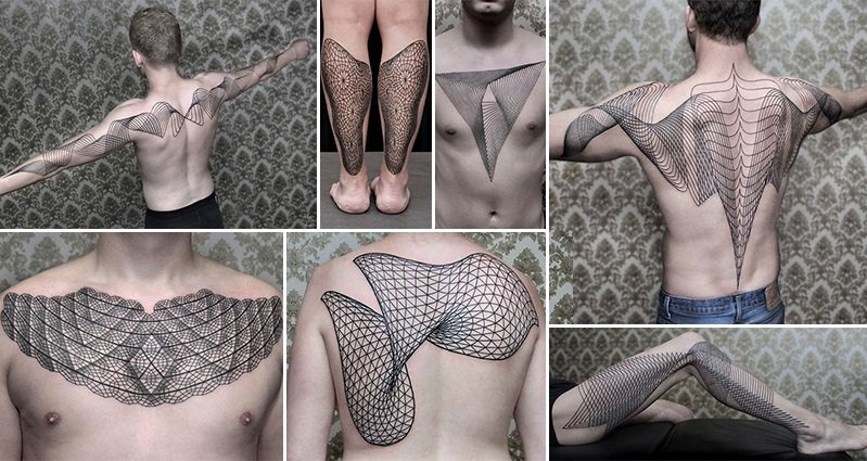 Geometric Line Tattoos