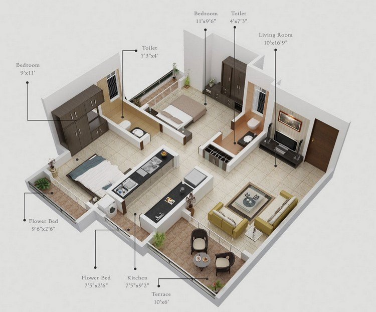 Gurukrupa-Two-Bedroom-with-Patios