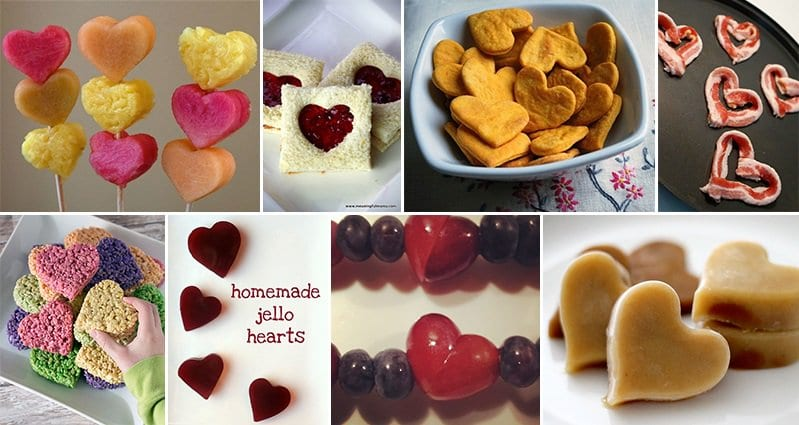 valentines day Heart Shaped Foods