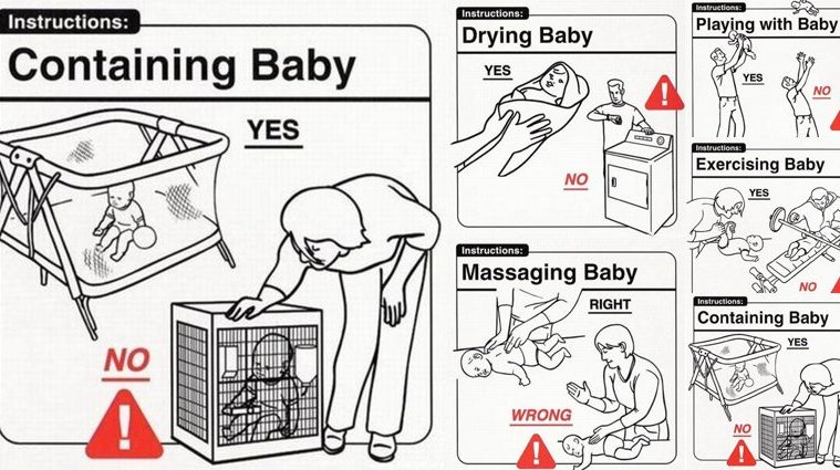 funny Baby Handling Tips