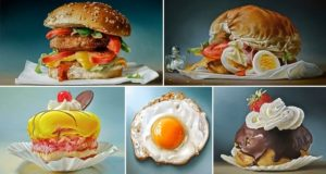 realistic Food Art