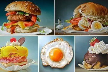 realistic Food Art