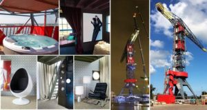 Industrial Crane Luxury HoteL