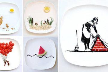 Inventive Food Art