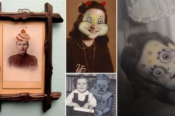 funny vintage photos makeovers