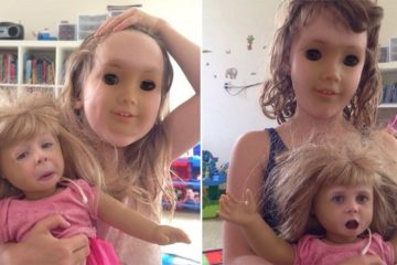 Kids And Dolls Swap Faces