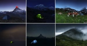 Mountain Photographer Tent