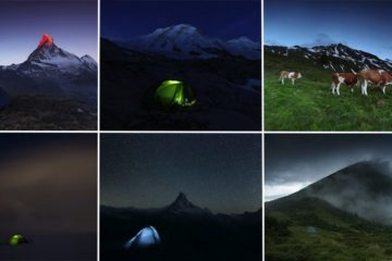 Mountain Photographer Tent